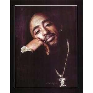 2Pac Tupac Shakur RAP POSTER print Resurrection Hip Hop