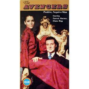 Avengers Positive Negative Man Patrick Macnee, Diana Rigg Movies