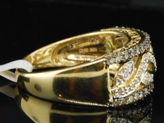 WOMENS YELLOW GOLD CHOCOLATE BROWN DIAMOND ENGAGEMENT RING WEDDING