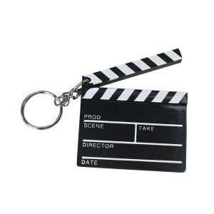 Clapboard Hollywood Key Chain 2.5 inch (1 Dozen