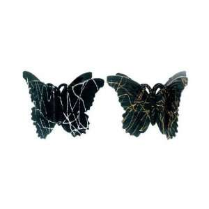 Black Acrylic Hair Claws Case Pack 60