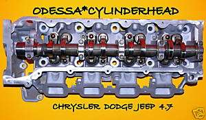 CHRYSLER DODGE JEEP CHEROKEE DAKOTA 4.7 SOHC CYLINDER HEAD
