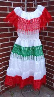 Cinco de Mayo Mexican Independence Day Dress Mexico Fiesta Dress