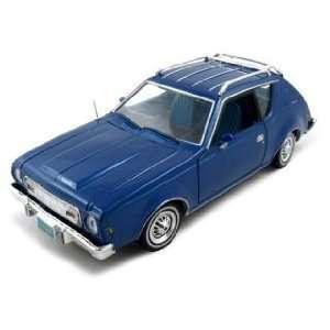 1974 AMC Gremlin Diecast Car Model 1/24 Blue Die Cast Car