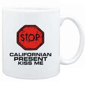 Mug White  STOP  Californian START KISSING  Usa States