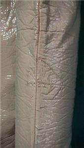 1970S BONE/PINK STRETCH VINYL GOGO BOOTS SZ 11M MOD