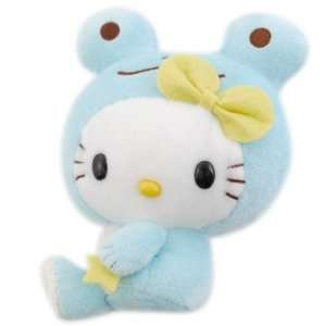 Hello Kitty Plush Blue Frog Toys & Games