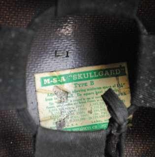 Vtg Industrial MSA Welding Mask Quick Relase Hard Hat Hardhat Helmet