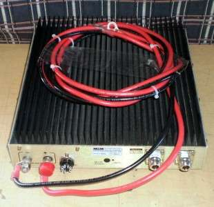 TE Systems Commercial 2 way   UHF RF AMPLIFIER Model 4552 450 470 Mhz