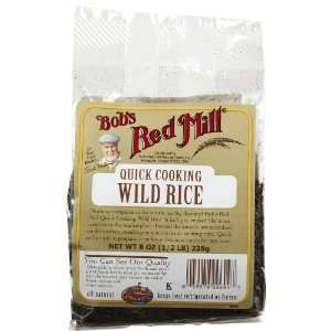Bobs Red Mill Quick Cooking Wild Rice    8 oz: Health & Personal Care