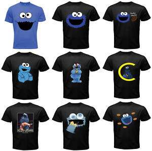 COOKIE MONSTER SESAME STREET FUNNY MAN SHIRT COLLECTION