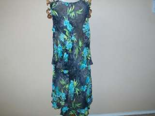 New Conrad C Woman Gray Floral Print Skirt Outfit Sz 24
