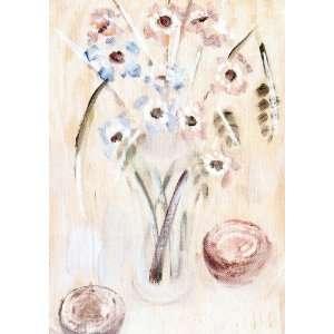 Francisco Gutiérrez Cossío   24 x 34 inches   Jarrón con flores