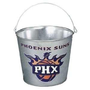 Phoenix Suns Galvanized Pail 5 Quart   Ice Buckets