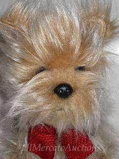 RUSS GENGHIS Plush Yorkshire Terrier Puppy Dog Toy 8