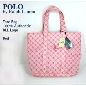 Polo Ralph Lauren Black Tote Hand Bag
