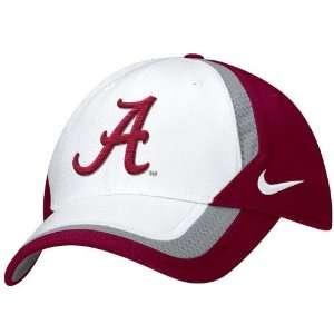 Nike Alabama Crimson Tide Two Tone Coaches Dri Fit Flex Fit Hat