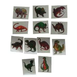 72 Dinosaur Temporary Tattoo Tattoos Stickers 2 Toys & Games