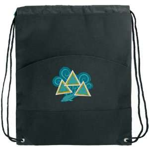 Tri Delta Design Drawstring Backpack Bags