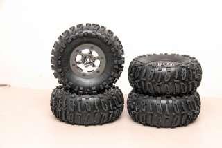 Losi Comp Crawler Beadlock wheels w/ Losi Rock Claws Axial   RC4WD