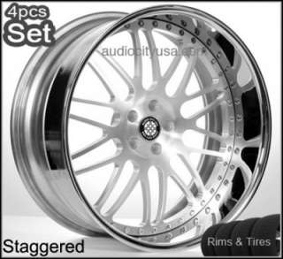 22 3pc Forged Mercedes Benz Wheels and Tires Rims S550