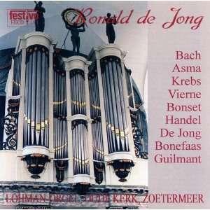 Alexandre Guilmant, Feike Asma, Jacobus Bonefaas, Louis Vierne Music