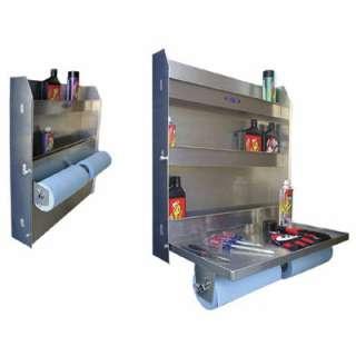 RB Large Aluminum Workstation Storage Cabinet Trailer