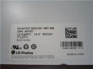 15.4 WXGA LCD SCREEN DELL INSPIRON 1501 1505 1520 1525