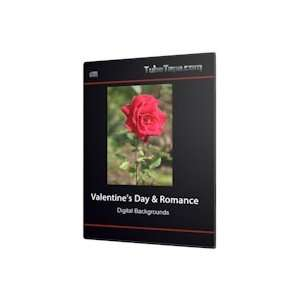 Valentines Day & Romance Digital Backgrounds