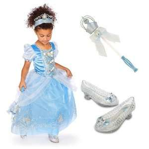 Princess Cinderella Deluxe Costume Gift Set
