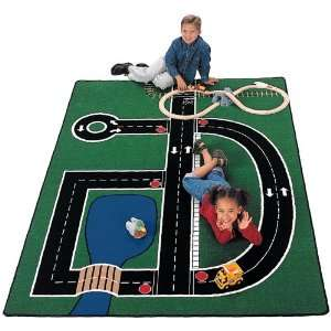 Ride Around Town Train Set With Table Toys & Games
