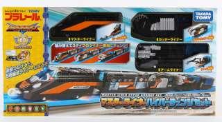 TOMY PLARAIL HYPER GUARDIAN MASTERLINE HYPER CHANGE MOTORISED TRAIN
