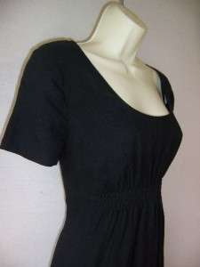 DKNY Black Linen Cocktail Dress 10 NWT