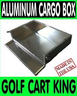 Club Car DS Golf Cart Aluminum Utility Cargo Bed Box