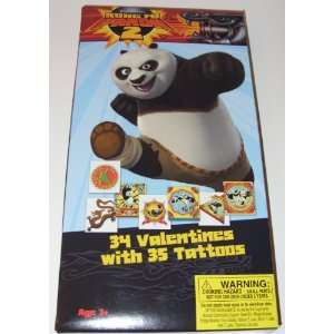 Kung Fu Panda 2 Valentines Day Cards (34 Valentines with