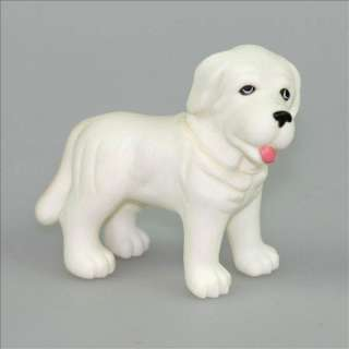 White Lovely Dog pet Puppy Doggies Barbie Doll outfit