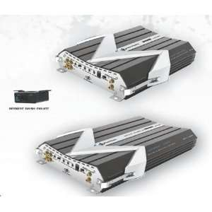 Power Acoustik Gothic Series Amplifiers 2200 Watt Max