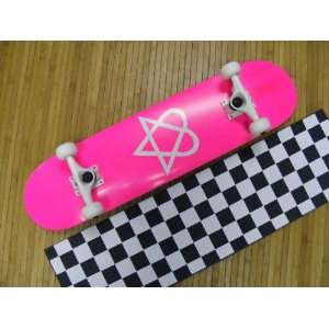 Heartagram New Bam Complete Skateboard: Sports & Outdoors