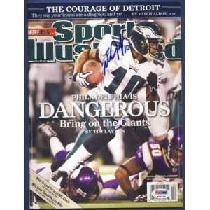 DeSean Jackson Eagles Signed Sports Illustrated PSA/DNA