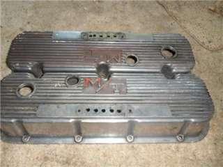 Mickey Thompsan BBC Aluminum finned valve covers 427 454 396