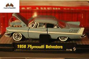 M2 Machines 1958 Plymouth Belvedere ~ Auto T R18
