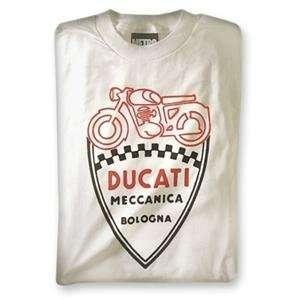 MetroRacing Ducati Shield T Shirt   Large/Black