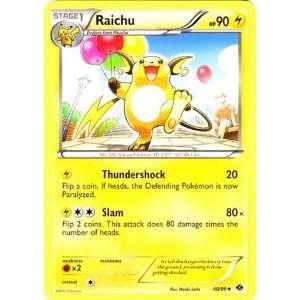 Pokemon   Raichu (40)   BW   Next Destinies   Reverse