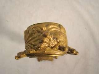 Antique VICTORIAN Art Nouveau NEW HAVEN Old FIGURAL Cherub CLOCK