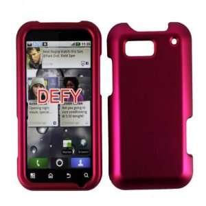 Rose Pink Hard Case Cover for Motorola Defy MB525 Cell