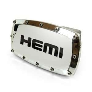 Dodge HEMI Engraved Billet Aluminum Tow Hitch Cover Automotive