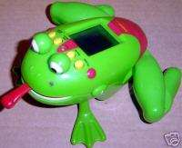 TIGER ELECTRONIC FROGGER TOY HANDHELD ARCADE FROG GAME