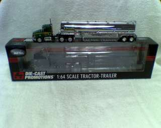 DIE CAST PROMOTIONS 1/64 INT. PROSTAR WITH TANKER