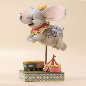 Enesco Jim Shore Heartwood Creek Faith In Flight Dumbo