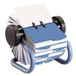 Rolodex Products   Rolodex   Colored Open Rotary Business Card File w